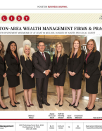 Awarded as a Top Wealth Management Firm by The Houston Business Journal
